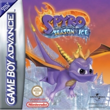 Spyro Season of Ice voor Nintendo GBA
