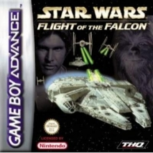 Star Wars Flight of The Falcon voor Nintendo GBA