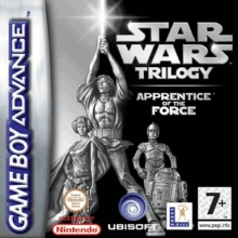 Star Wars Trilogy Apprentice of the Force voor Nintendo GBA