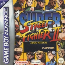 Super Street Fighter II Turbo Revival Compleet voor Nintendo GBA