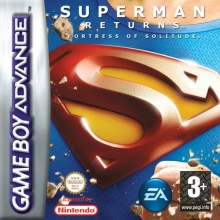 Superman Returns Fortress of Solitude voor Nintendo GBA