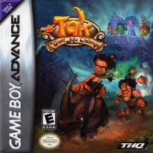 Tak The Great Juju Challenge voor Nintendo GBA