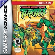 Teenage Mutant Ninja Turtles voor Nintendo GBA