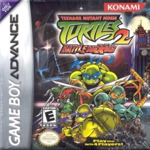 Teenage Mutant Ninja Turtles 2 voor Nintendo GBA