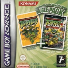 Teenage Mutant Ninja Turtles Double Pack voor Nintendo GBA