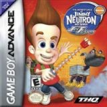 The Adventures of Jimmy Neutron Boy Genius Jet Fusion voor Nintendo GBA