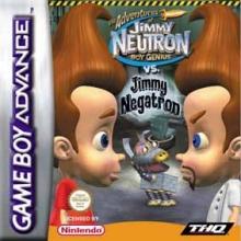 The Adventures of Jimmy Neutron Boy Genius vs Jimmy Negatron voor Nintendo GBA