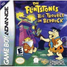 The Flintstones Big Trouble in Bedrock voor Nintendo GBA