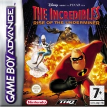 The Incredibles Rise of the Underminer voor Nintendo GBA