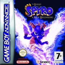 The Legend of Spyro A New Beginning voor Nintendo GBA