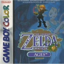 /The Legend of Zelda Oracle of Ages voor Nintendo GBA