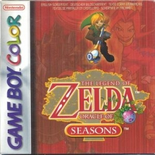 The Legend of Zelda Oracle of Seasons Lelijk Eendje voor Nintendo GBA