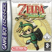 /The Legend of Zelda The Minish Cap Als Nieuw voor Nintendo GBA