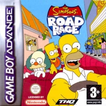 The Simpsons Road Rage voor Nintendo GBA