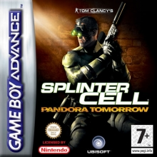 Tom Clancys Splinter Cell Pandora Tomorrow Compleet voor Nintendo GBA