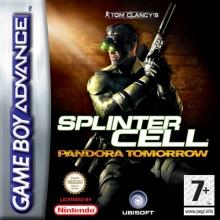 Tom Clancys Splinter Cell Pandora Tomorrow Lelijk Eendje voor Nintendo GBA