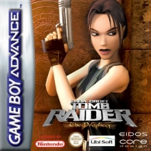 Tomb Raider The Prophecy voor Nintendo GBA