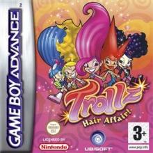 Trollz Hair Affair Als Nieuw voor Nintendo GBA