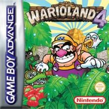 Wario Land 4 voor Nintendo GBA