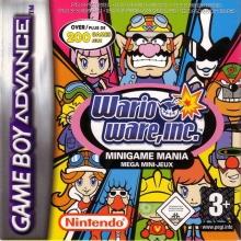 Wario Ware Inc voor Nintendo GBA