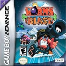 Worms Blast voor Nintendo GBA
