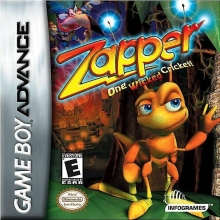 Zapper One Wicked Cricket voor Nintendo GBA