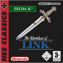 Zelda II The Adventure of Link voor Nintendo GBA