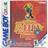 The Legend of Zelda Oracle of Seasons Als Nieuw Amerikaans voor Nintendo GBA