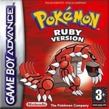 Pokémon Ruby Version voor Nintendo GBA