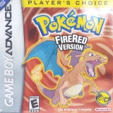 Pokémon FireRed Version Players Choice Compleet voor Nintendo GBA