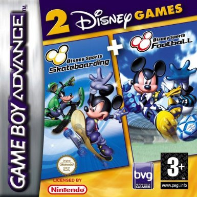 Boxshot 2 Games in 1: Disney Sports: Skateboarding + Disney Sports: Football