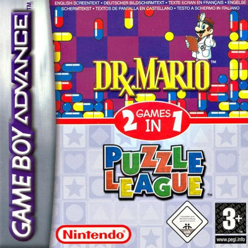 Boxshot 2 Games in 1: Dr. Mario + Puzzle League