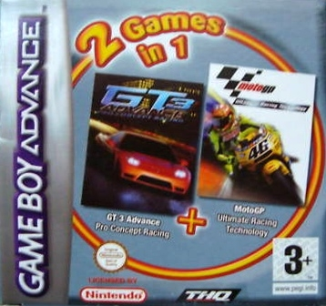 Boxshot 2 Games in 1: GT 3 Advance + Moto GP