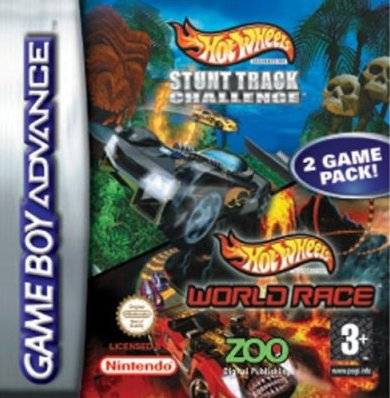 Boxshot 2 Games in 1: Hot Wheels: Stunt Track Challenge + Hot Wheels: World Race