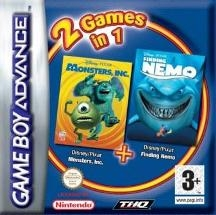 Boxshot 2 Games in 1: Monsters en Co. + Finding Nemo