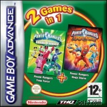 Boxshot 2 Games in 1: Power Rangers Time Force + Power Rangers Ninja Storm