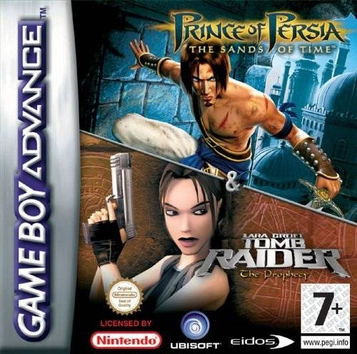 Boxshot 2 Games in 1: Prince of Persia The Sands of Time + Tomb Raider The Prophecy