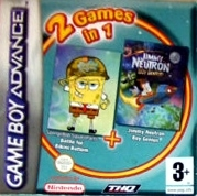 Boxshot 2 Games in 1: SpongeBob SquarePants Battle for Bikini Bottom + Jimmy Neutron Boy Genius