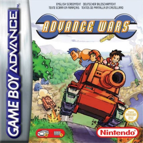 Boxshot Advance Wars