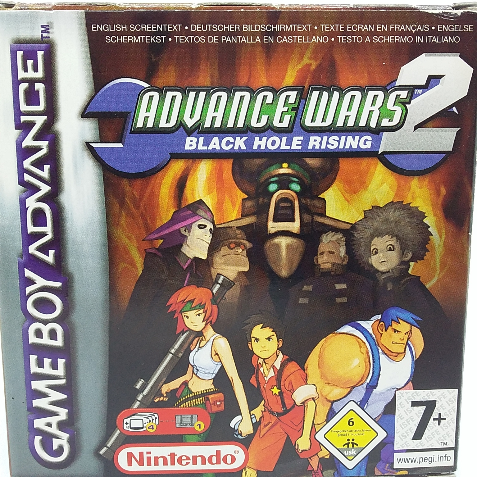 Boxshot Advance Wars 2: Black Hole Rising