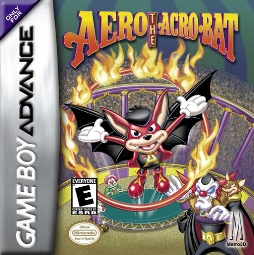 Boxshot Aero the Acro-Bat