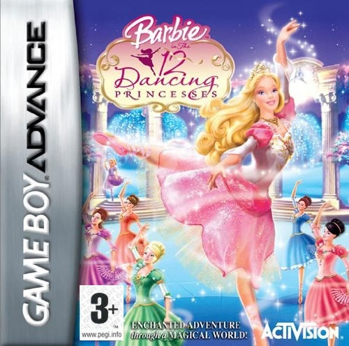 Boxshot Barbie in the 12 Dancing Princesses