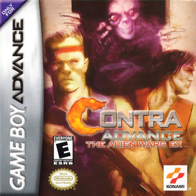 Boxshot Contra Advance: The Alien Wars EX