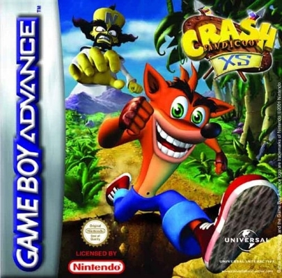 Boxshot Crash Bandicoot XS