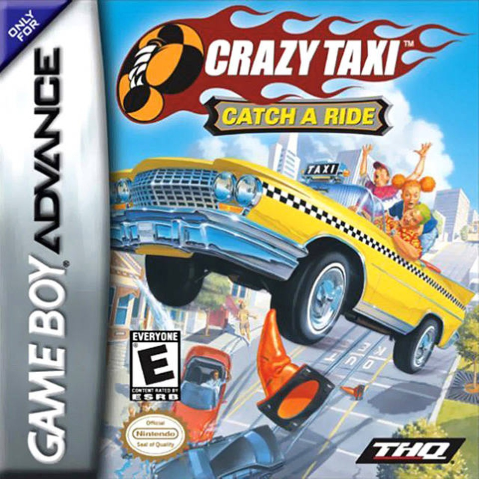 Boxshot Crazy Taxi: Catch a Ride