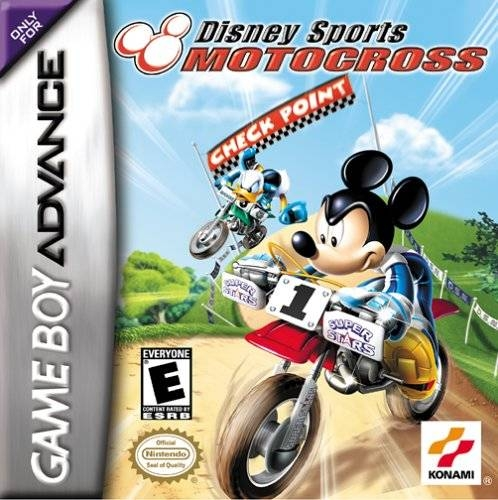 Boxshot Disney Sports Motocross