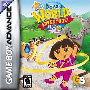 Boxshot Dora the Explorer: Dora's World Adventure