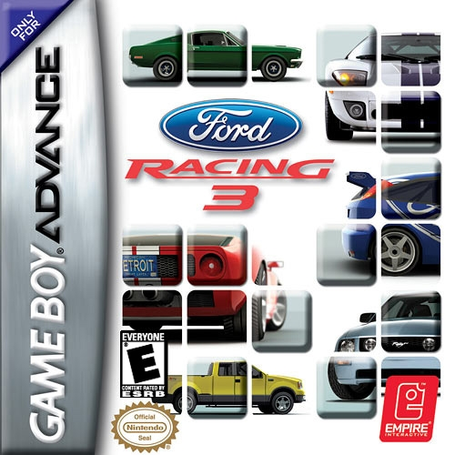 Boxshot Ford Racing 3
