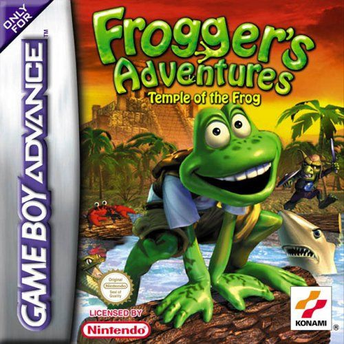 Boxshot Frogger's Adventures: Temple of the Frog