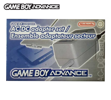 Boxshot Game Boy Advance AC-DC Adapter Set